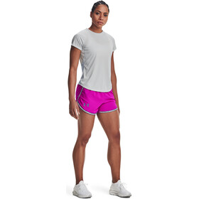 Under Armour Speed Stride Short Sleeve Shirt Women, szary